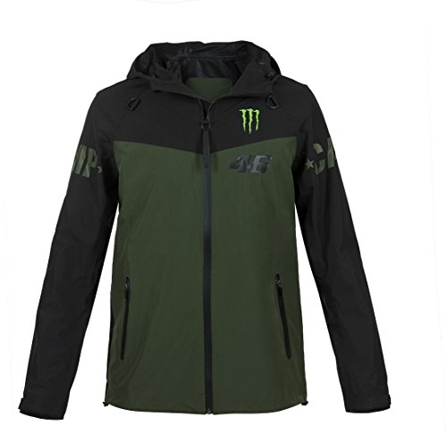 Valentino Rossi VR46 MotoGP Monster Camp Soft Shell Giacca Ufficiale 2018