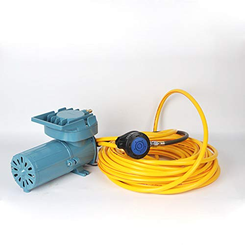 Scuba Diving air Compressor Ultra Quiet Design Pure Breathing Air With 2-Stage Filter System, 32ft Hose & Respirator