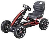 Actionbikes Motors Miweba Gokart Abarth - Pedali per bambini, con licenza ufficiale, per b...