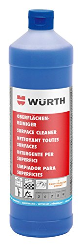 Würth 893117105 Pulizia Easy to Clean – 1000 ML – Detergente Multiuso Neutra Con effetto lucido