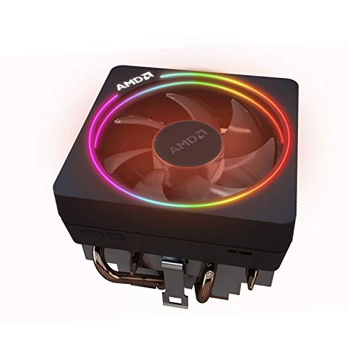 AMD Wraith Prism LED RGB Cooler Fan van Ryzen 7 2700X Processor AM4/AM2/AM3/AM3+ 4-pins Connector Koperen Base/Alum Warmtegootsteen