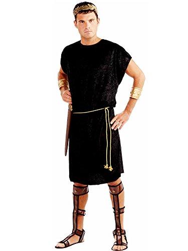 Forum Men's Black Tunic Costume,Black,Standard