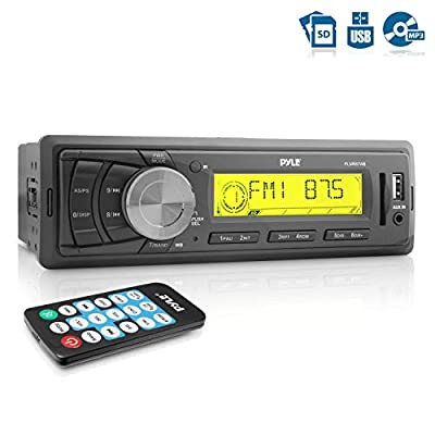 Pyle AM/FM-MPX IN-Dash Marine MP3 Player/Weatherband/USB & SD Card Function