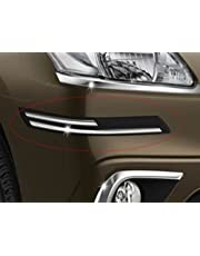 OAN EASY4BUY Rubber with Chrome Finish Car Bumper Protector for Toyota Innova (Standard Size, Assorted Colour)