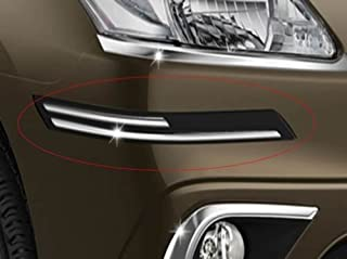 Easy4buy Rubber with Chrome Finish Car Bumper Protector Guard Moulding for Maruti Ertiga