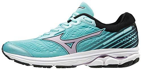 Mizuno WAVE RIDER 22, Women's Running, Turquoise (Angel Blue/Lavender Frost/Black 69), 4.5 UK (37 EU)
