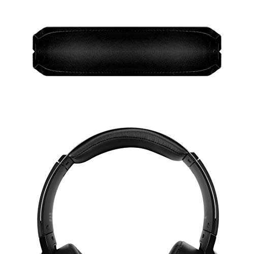 Geekria Headband Replacement for Sony MDR-XB950BT, MDR-XB950N1, MDR-XB950B1, MDR-XB950/H Headphones Replacement Headband/Headband Cushion/Rubber Cushion Pad Repair Parts (Black)