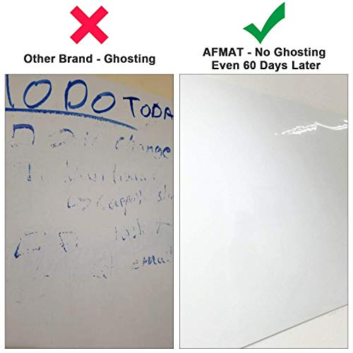 White Board Wallpaper, White Board Roll, Stick on White Boards for Wall, 1.5x11ft Peel and Stick Dry Erase Roll, Stain-Proof, Super Sticky Whiteboard Sticker Wall Decal for Wall/Table/Door,3 Markers Photo #2