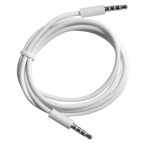 white auxiliary cord - 3