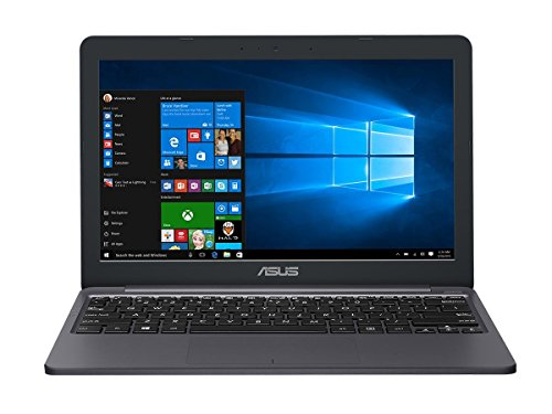Asus E203NA-FD029T Portatile, Schermo 11.6', Celeron N3350, RAM 4 GB, eMMC 32 MB, Intel HD Graphics [Layout Italiano]...