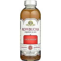 GTs, Kombucha Cayennade Enlightened Single Organic, 16.2 Fl Oz