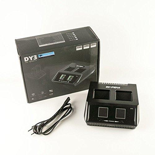 EV-PEak Ladegerät Duo DY3 für Yuneec Typhoon H Akku - bis zu 2 Akkus 70W 6AMP 2CH - 1 Click