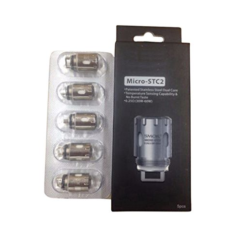 Original Smok TFV4 Coil Micro STC2 Replacement Coil Head 5/Pack