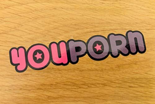 YouPorn Aufkleber Sticker Porn Fake Taxi Auto Sex Fun Spaß Brazzers Kult Mi364