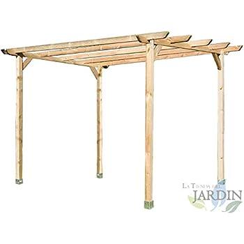 Soporte poste-H 2x 91MM Anclajes poste madera galvanizado alta ...
