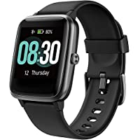 UMIDIGI Fitness Tracker Smart Watch With Heart Rate Monitor (Onyx Black)