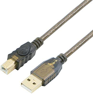 USB 2 0 Cable A Male to B Male Cable for Printer Scanner 100 Feet product image