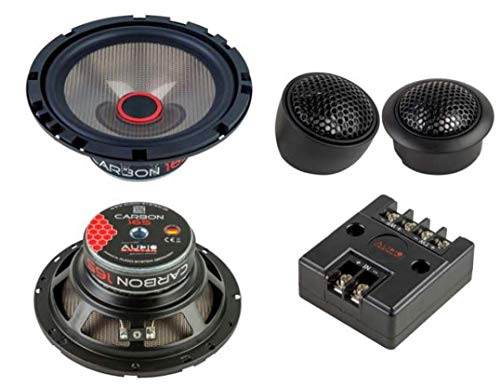 Audio System Carbon 165 Lautsprecher 16,5cm 2-Wege Compo Speaker System - Set