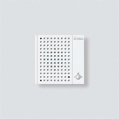 Siedle 2544046 Nebensignalgerät, Aufputz, NS 511-01, weiß