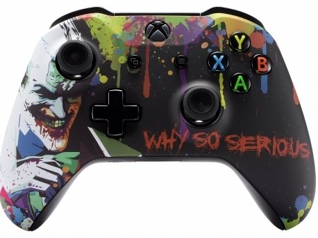 5000+ Modded Controller for Microsoft Xbox One - Works on All Shooter Games - Multiple Colors Available (Joker)