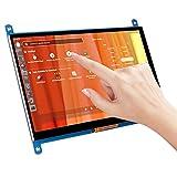 For Raspberry Pi 4 Touch Screen IPS da 7 pollici capacitivo 1024x600 HDMI Display Monitor di gioco per Pi 4