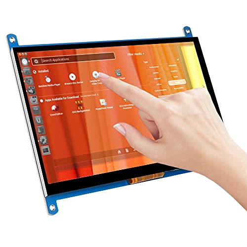 7 Zoll IPS Touchscreen kapazitiver 1024x600 HDMI Display Game Monitor für Raspberry Pi 4