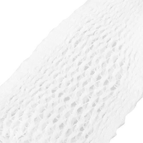 Vendaje de malla elástica vendaje de gasa tubular transpirable vendaje de apoyo extensible vendaje fijo para la retención del vendaje (6#)