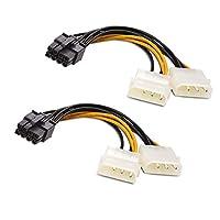 8ピンPCIe Molex電源ケーブル(グラボの補助電源)