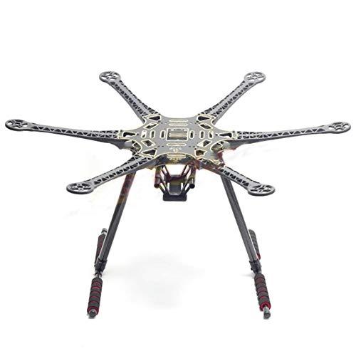 powerday S550 Hexacopter Frame Kit PCB w/Carbon Fiber Landing Gear Plastic arm
