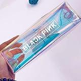 Teblacker Bts Estuche, K-Pop Bts Blackpink Doblemente Creativo Galaxy Alta Capacidad Papelería Funda Bolso con Cremallera para el Ejército - Blackpink