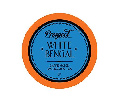 Prospect Tea White Bengal Darjeeling Tea Pods for Keurig K-Cup Brewers, 40 Count