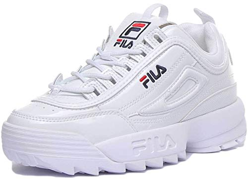Fila Damen Wmn Disruptor Low Sneaker, Weiß (White 1010746-1fg), 41 EU