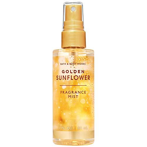 Bath & Body Works GOLDEN SUNFLOWER 2020 Limited Edition (Travel Size Fine Fragrance Mist, 3fl.oz)