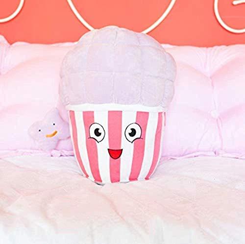 DINEGG Plüschtiere lustig Neue Nette Popcorn Plüsch Kissen Weiche Cartoon Lebensmittel Popcorn Gefüllte Puppe Baby Begleitung S Stuhl Kissen Freunde Geschenk 1 stück 20 cm YMMSTORY