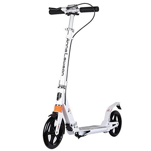 GTYMFH Scooter de pie Plegable Grande for Adultos Scooter de Rueda  Ligera Cercanías Kick Scooter, Regalos Saave Espacio no eléctricos de cumpleaños for Adultos/Adolescentes/Niños Scooter de Ciudad