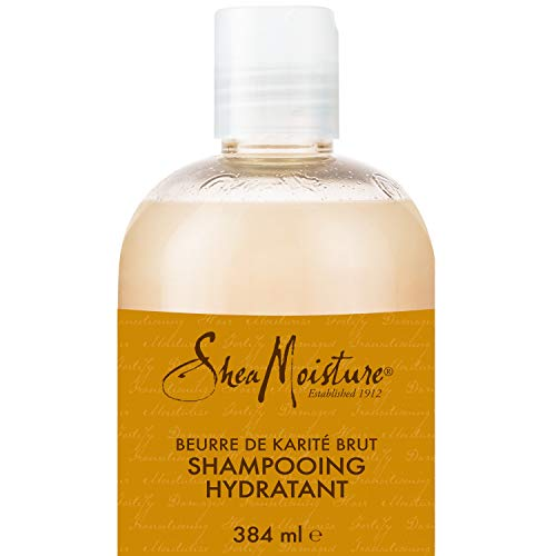 Shea Moisture Raw Shea Butter Extra Moisture Retention Shampoo, with Sea Kelp & Argan Oil, to...