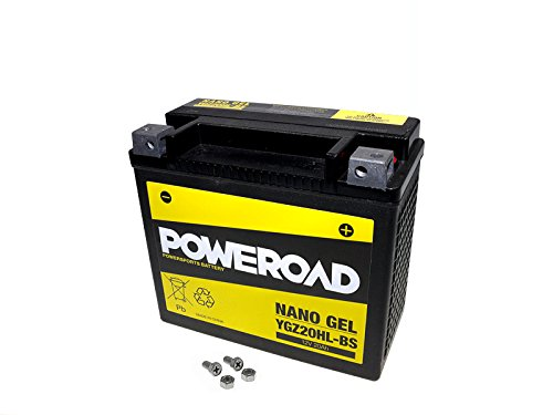 GEL-Batterie-Poweroad Z-Power YTX20HL-BS für Buell Harley Davidson