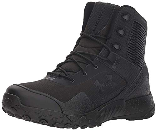 Under Armour mens Valsetz Rts 1.5 Military and Tactical Boot, Black (001 Black, 10.5 US