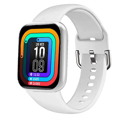 Infinizy Pro 3 (GREAT INDIAN OFFER WITH 9 YEARS WARRANTY) WS-8 Smart Watch 1.3'' Full Touch Smartwatch with 24x7 Dynamic Heart Rate Blood Pressure Tracking, Waterproof Exercise Smartwatch For Ladies, Girls, Women-ASSORTED COLOR