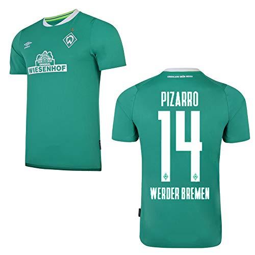 UMBRO SV Werder Bremen Trikot Home Kinder 2020 - PIZARRO 14, Größe:YXL (158)