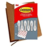 Command 6 Cord Bundlers, 12 Strips, Each Bundler Holds up to 2 lbs, Easy to Open Packaging, Organize Damage-Free