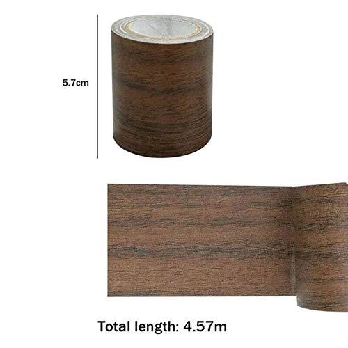 1 STKS Roll Realistische Woodgrain Reparatie Adhensive Duct Tape Voor Meubelen Zorg 5 M, 6, China