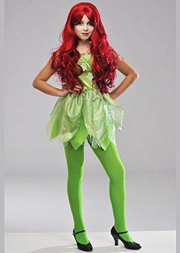 Magic Box Kinder Größe Poison Ivy Style Kostüm Large (11-13 Years)