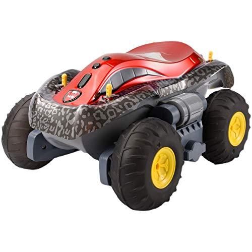 Lihgfw 2.4G Fernbedienung Amphibiöse Fernbedienung Auto Allradantrieb Off-Road Transformation Auto Kinder Elektrische Wasserdichte Reifen-Autor-Spielzeug-Spielzeug 360 ° Drift Ultra-Lang-Luftzufuhr-Lu