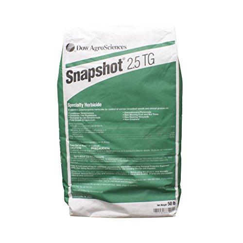 Snapshot - 50 Pound bag - Mulch Bed Weed Inhibitor
