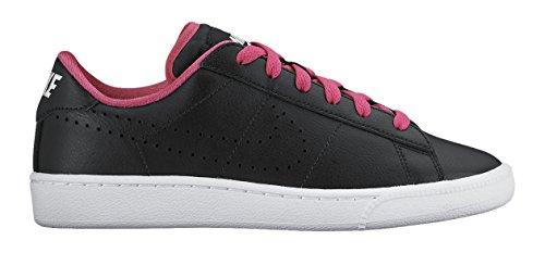 Nike Mädchen Tennis Classic (GS) Tennisschuhe, Schwarz/Weiß/Rosa, 36 EU