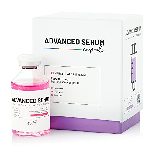 BRÜUN HS - Control Hair and Scalp Ampoule Serum – Micro Needling Korean Serum Booster Meso For Hair Growth Use with and without Derma Pen Microneedling Skin Care Serum 1.18 fl.oz – BRÜUN by Avery Rose