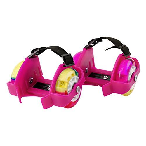 jfhrfged Verwandeln Sie Ihre normalen Schuhe in Sekundenschnelle in Rollschuhe mit diesen Flash-Rollschuhen (E)