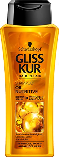 SCHWARZKOPF GLISS KUR Shampoo Oil Nutritive, 1er Pack (1 x 250 ml)