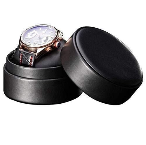 Watch Shaker, Leather Watch Box Storage Unique Watch Boes Shell Fashion Brand Original Round Watch for Men and Women Watches